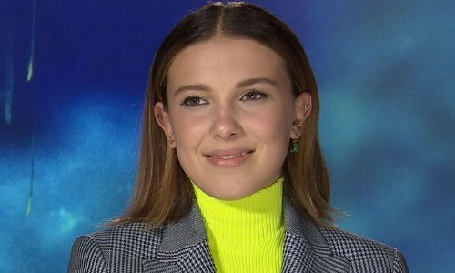 Millie Bobby Brown Meeting in Paris
