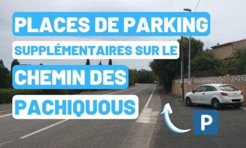 Places de parking - Chemin des Pachiquous à Sollies Pont
