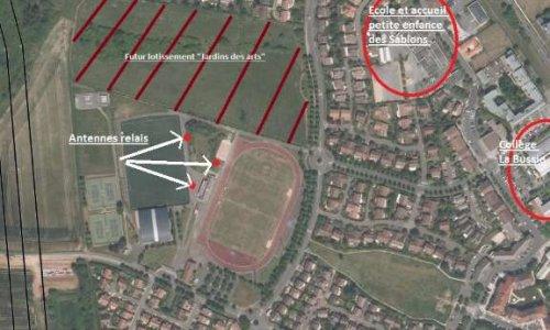 Pétition : Contestation concernant l'implantation des 2 nouveaux pylônes d'antennes relais sur le parc des sports de Vauréal