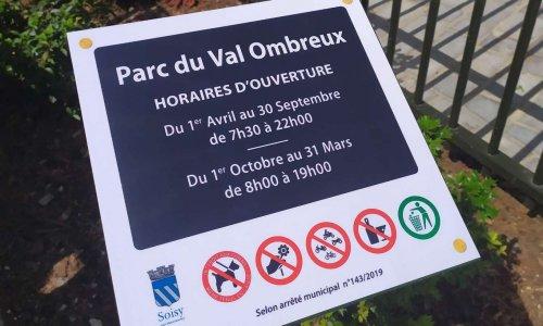 NON à l'interdiction des chiens et cyclistes dans le parc du Val Ombreux à Soisy-sous-Montmorency