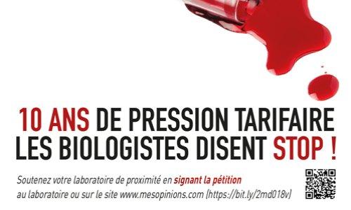Pétition : Non à la fermeture des laboratoires de proximité !