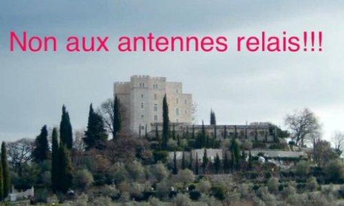 Pétition : Non à l'installation des antennes relais sur le Château de la Gaude (ou Château de Saint-Jeannet) à Saint-Jeannet 06640