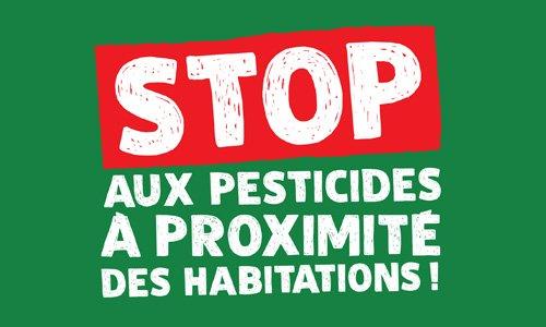 Pétition : Stop aux pesticides de synthèse à proximité des habitations et des écoles