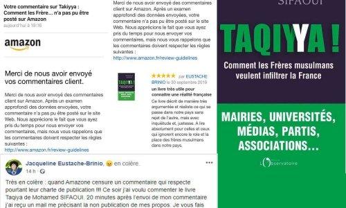 Halte à la censure pro-islamiste sur Amazon !