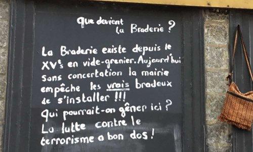 POUR LA LIBERTÉ DE BRADER
