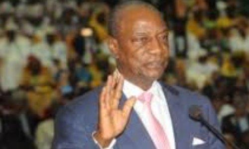 Démission immédiate de Alpha Condé pour non respect de serment à la constitution de 2010.