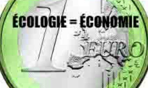 ÉCOLOGIE = ÉCONOMIE