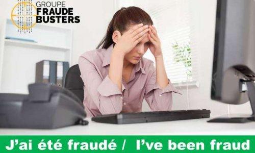 J'ai été fraudé! I've been fraud.  Mouvement de la part des victimes de fraude, de vol de données personnelles et de vol d'identité d'agir pour contrer les fraudeurs.