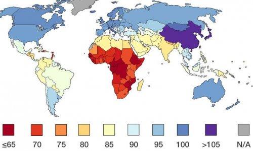 bloquer la diffusion de la carte mondiale des QI