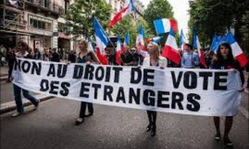 Non au droit de vote des étrangers en France