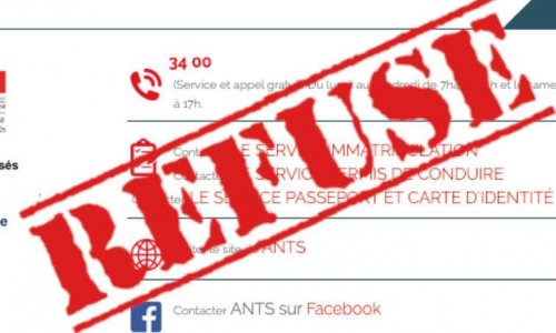 ANTS service client de l'année: Une récompense à la médiocrité !