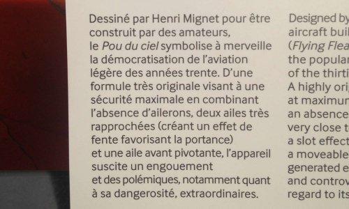 Pétition : Affichage volontairement erroné sur les capacités de vol d'un avion/ULM