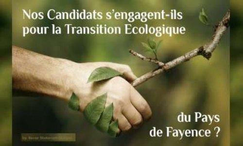 Pétition : Les candidats aux Municipales doivent-ils s'engager dans la Transition Écologique du Pays de Fayence ?