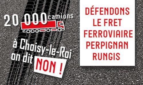 Pétition : Défendons le fret ferroviaire Perpignan - Rungis