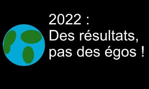 Présidentielles 2022 : les valeurs avant l'égo