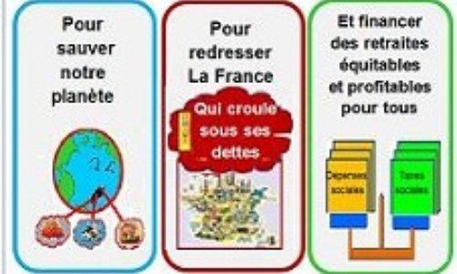 Pour sauver notre planète - redresser la France et financer durablement nos retraites