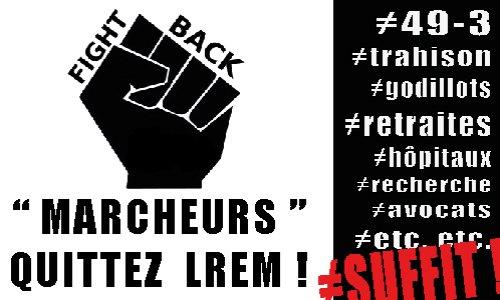"""MARCHEURS : QUITTEZ LREM ! Rendez-nous la """"démocratie"""" parlementaire !"""