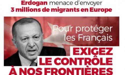 Face à l'invasion migratoire, contrôlons nos frontières !