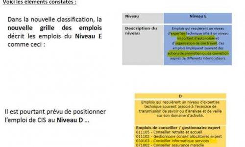 Classification CIS