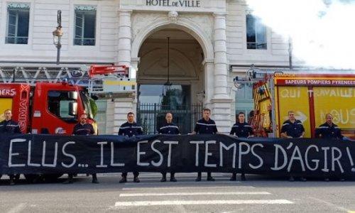 Pour que la grève nationale des sapeurs-pompiers reprenne rapidement !