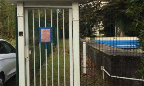 Pour la mise en fonction de la piscine Résidence l'Host Gradignan !