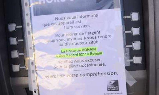 Le village se mobilise pour un distributeur de billets en fonction à Fresnoy-le-Grand !