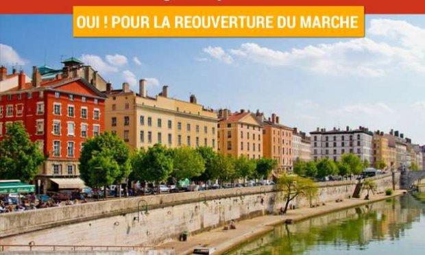 RÉOUVERTURE DU MARCHE QUAI SAINT-ANTOINE LYON 2