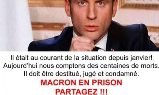 Changeons la France jugement des criminels du gouvernement et Macron