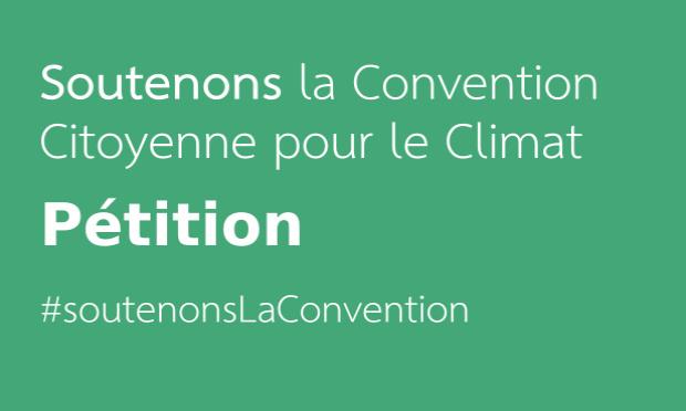 Pétition : Sortie de Crise : Soutenons la Convention Citoyenne pour le Climat