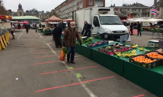 Retour du marché de Lisieux