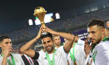 Algérie dans soccer plato