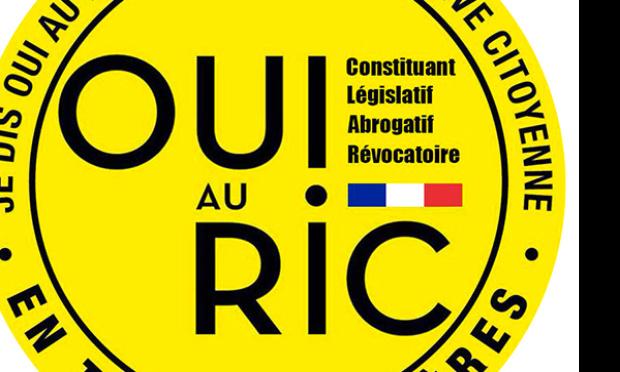 RIC  R. I. C referendum d'initiative citoyenne