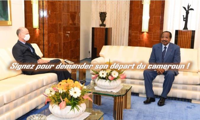 Pour le départ immédiat de l'Ambassadeur Christophe Guilhou du Cameroun