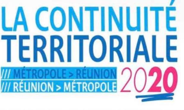 Demande de prolongation de la validité du bon de continuité territoriale de 2020 jusqu'en 2021