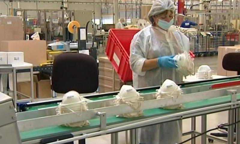 Nous demandons la réouverture de l'usine de masque Honeywell de Plaintel