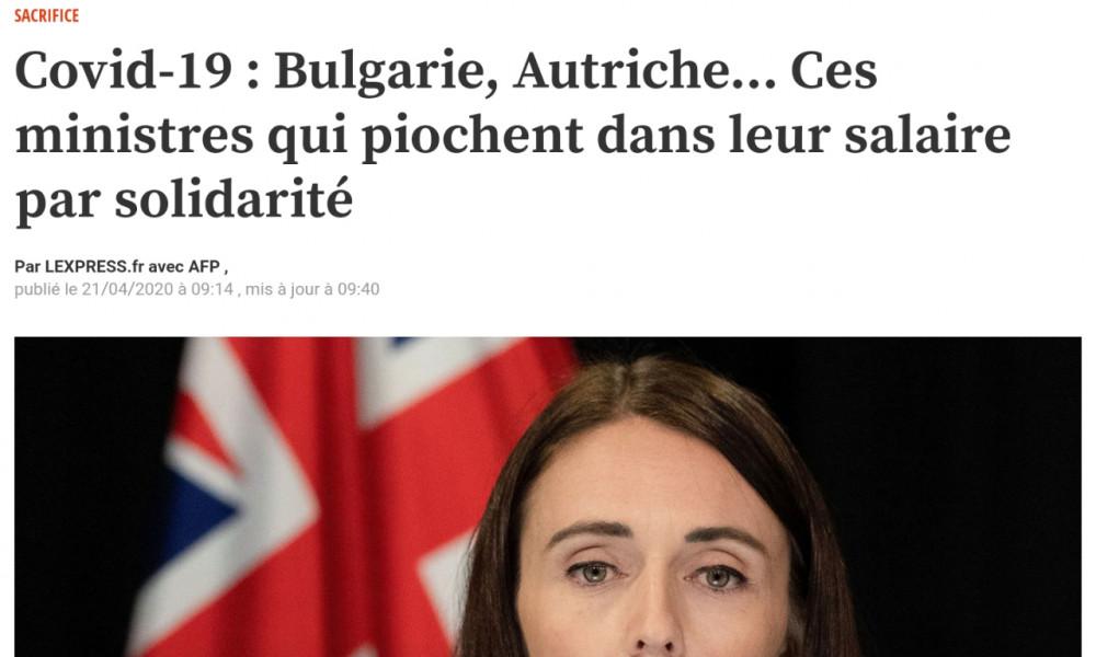 Gel Salaires Gouvernement Français