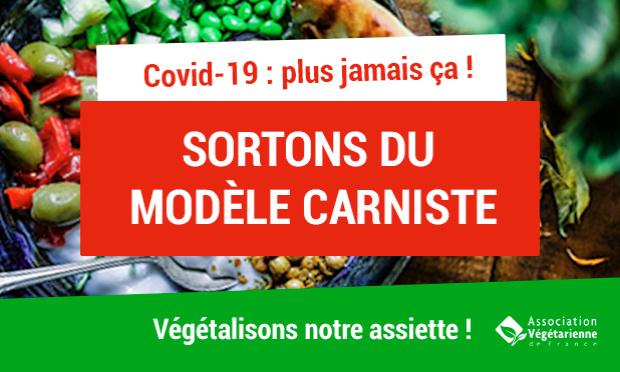 Pétition : Covid-19 : c'est le moment de changer nos assiettes ! #AlimentationAntiPandémie