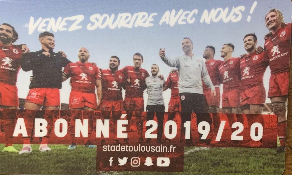 Pétition : Je renonce au remboursement de mon abonnement du Stade Toulousain 2019-2020