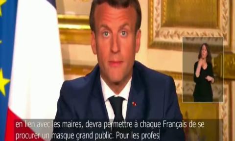 Prix des masques de protection annoncé par Emmanuel Macron : 5 € ! Honteux !