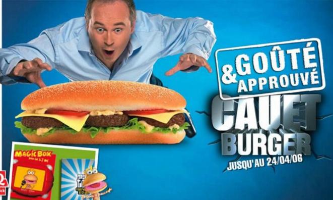 Pétition : Pour que Quick ressorte le Cauet Burger qui a disparu depuis maintenant 14 ans.