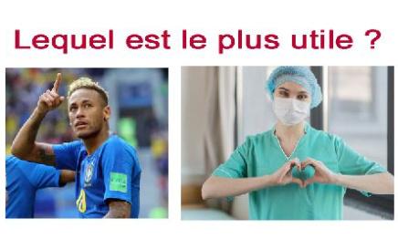 Pétition : Pour que les soignants soient mieux payés que Neymar.