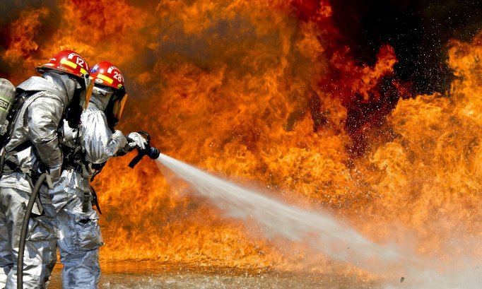 Hommage national aux sapeurs-pompiers