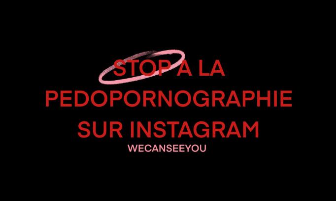 Stop à la pédopornographie sur Instagram !