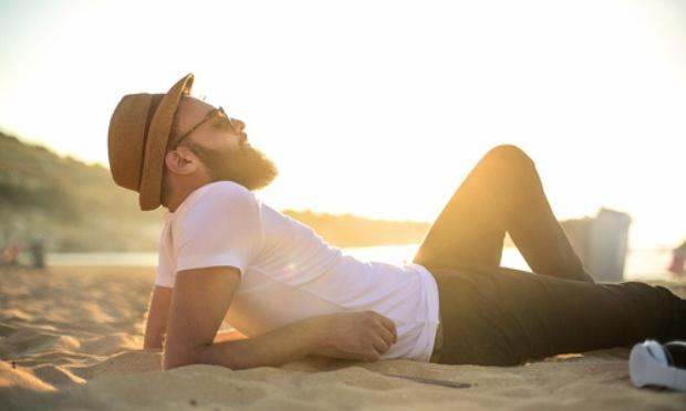 Pour la liberté de s'étendre sur le sable !