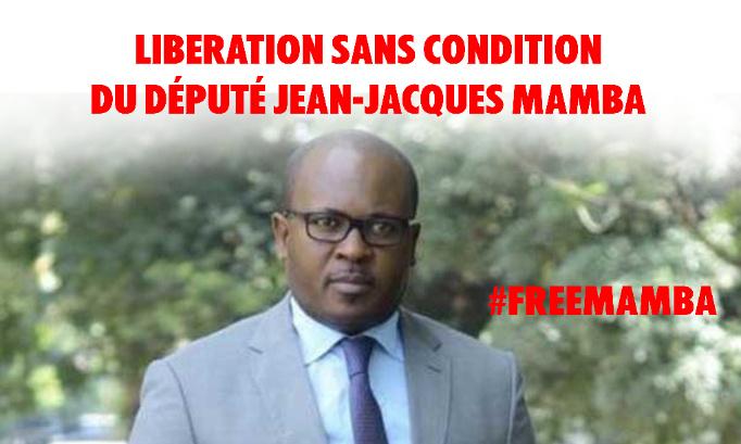 Pour la libération sans condition de l'honorable Jean-Jacques MAMBA !