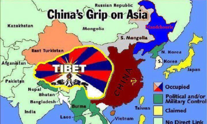 Non à la Chine dictatoriale membre de l'ONU !