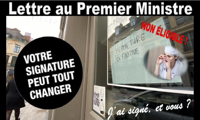 Pétition : Lettre au Premier Ministre pour sauver les TPE et PME toujours pas éligibles