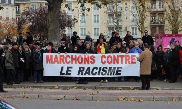Contre le racisme en France !!