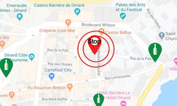 Pétition : Stop aux nuisances sonores liées au conteneur de collecte de verre rue de la paix & Winston Churchill à Dinard