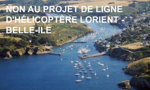 Pétition : Pour l'annulation du projet de liaisons en hélicoptère Lorient - Belle-île